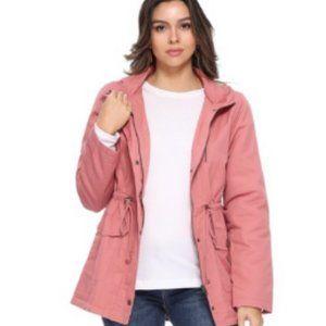 NWT FunkyTribe Pink Hooded Jacket Large